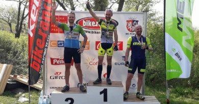 Nedělní druhé místo na BikeRanch Cup