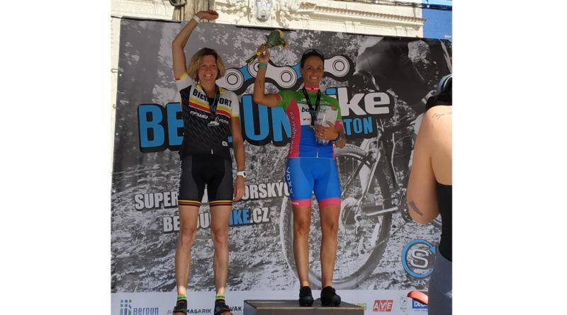 První v kategorii a třetí v ženách na Beroun Bike